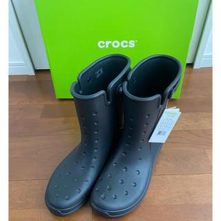クロックス(crocs)の最終値下げ🥾crocsレインブーツ🥾29cm  新品未使用タグ付き(長靴/レインシューズ)