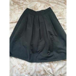 ジーナシス(JEANASIS)のジーナシス ブラックスカート(ひざ丈スカート)