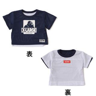 エックスガールステージス(X-girl Stages)の新品☆エクストララージキッズ リバーシブル  Tシャツ(Tシャツ/カットソー)