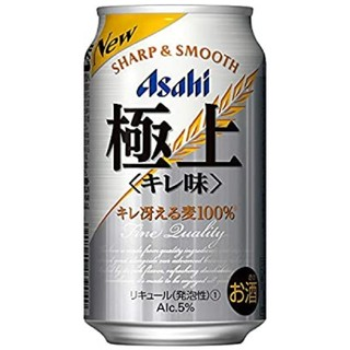アサヒ(アサヒ)の送料無料【2020年】新・アサヒ 極上 [ ビール 350ml×24本 ](ビール)