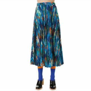 エンフォルド(ENFOLD)の新品未使用    ENFOLD  プリーツスカート 38(ロングスカート)