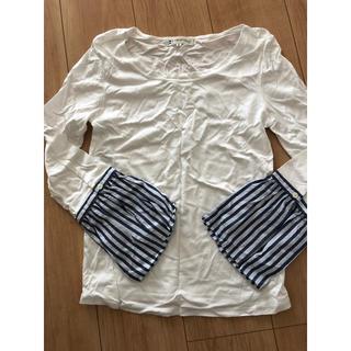 クミキョク(kumikyoku(組曲))のロングTシャツ(Tシャツ/カットソー(七分/長袖))