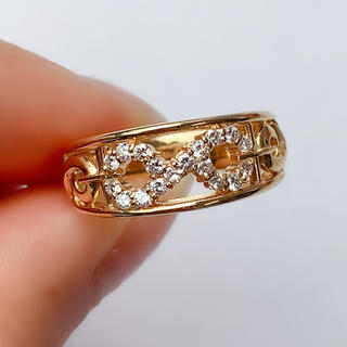 セリーヌ(celine)のセリーヌ CELINE インフィニティ ダイヤモンド 0.24ct 750(リング(指輪))