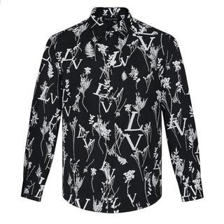 ルイヴィトン(LOUIS VUITTON)のLVプリンテッドリーフレギュラーロングスリーブシャツ(シャツ)
