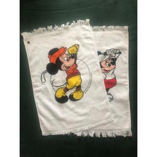ディズニー(Disney)のゴルフタオル ミッキー&ミニー(その他)