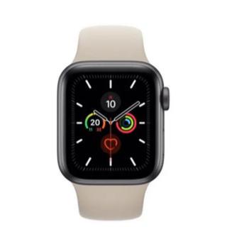 アップルウォッチ(Apple Watch)のapple watch シリーズ5(腕時計(デジタル))