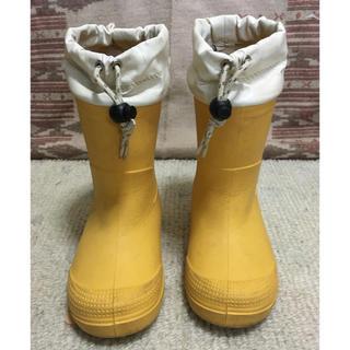 ムジルシリョウヒン(MUJI (無印良品))の無印良品 レインブーツ 長靴 18-19cm(長靴/レインシューズ)