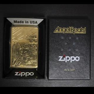 ジッポー(ZIPPO)の【新品】Angel Beats! YUI Gold Limited ZIPPO(タバコグッズ)