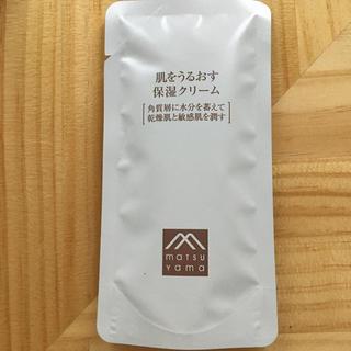 マークスアンドウェブ(MARKS&WEB)の松山油脂 肌をうるおす保湿クリーム(フェイスクリーム)