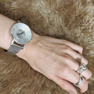 ザラ(ZARA)のKLASSE 14  シルバー 腕時計 silver(腕時計)