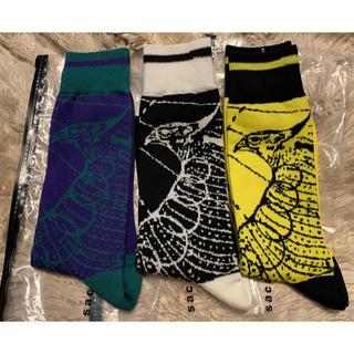 サカイ(sacai)のsacai socks dr.woo 3色セット(ソックス)