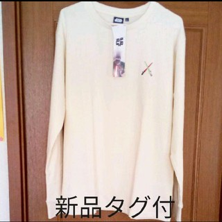 ディズニー(Disney)のスターウォーズ Tシャツ ロンT クリーム色(Tシャツ/カットソー(七分/長袖))