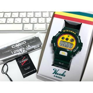 ジーショック(G-SHOCK)のコラボ/G-SHOCK/南海/ホークス/DW-6900/メタリック/限定/極美品(腕時計(デジタル))