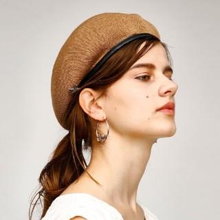 マウジー(moussy)の新品未使用品♡♥MOUSSYストローハット1点のみ(ハンチング/ベレー帽)