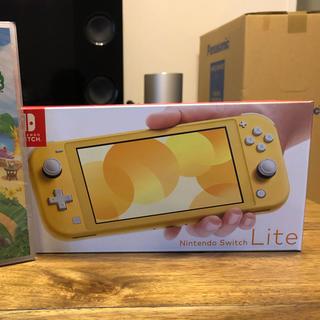 ニンテンドースイッチ(Nintendo Switch)のスイッチライト イエロー 【1年保証有り】(家庭用ゲーム機本体)