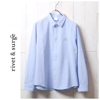 リベットアンドサージ(rivet & surge)の新品♡リベット&サージ♡サンドイッチワンポイントシャツ(シャツ/ブラウス(長袖/七分))