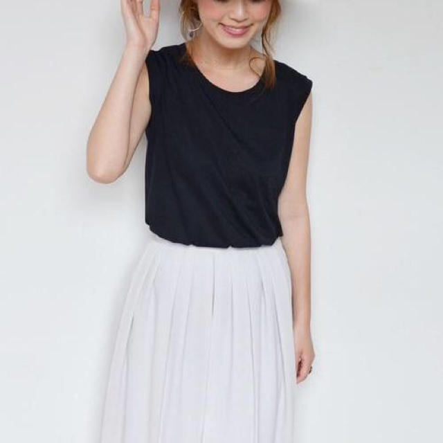 SHIPS for women(シップスフォーウィメン)のkhaju ships ノースリーブT レディースのトップス(Tシャツ(半袖/袖なし))の商品写真