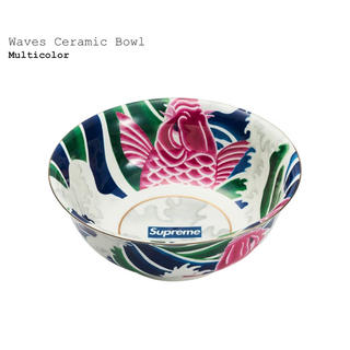 シュプリーム(Supreme)のSupreme Waves Ceramic Bowl (食器)