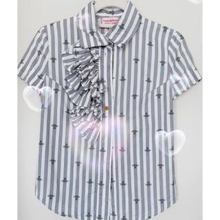 ヴィヴィアンウエストウッド(Vivienne Westwood)のVivienneWestwood ブラウス Mサイズ(シャツ/ブラウス(半袖/袖なし))