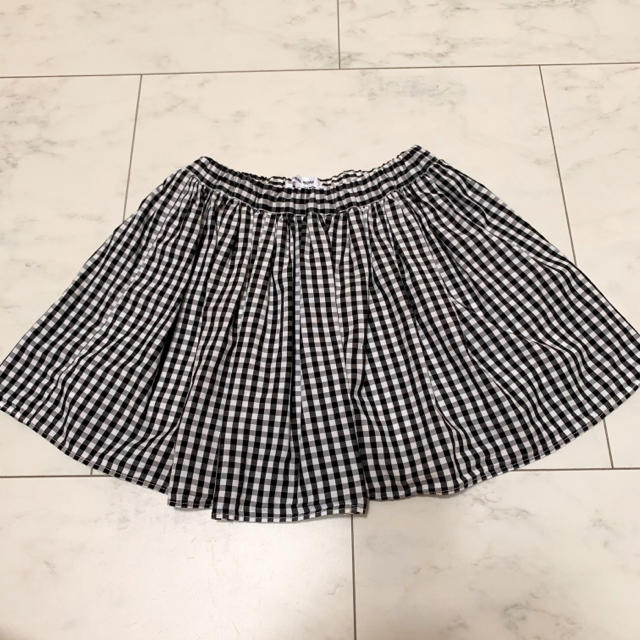 GLOBAL WORK(グローバルワーク)のGLOBAL WORK キッズ インナーパンツ付きスカート  キッズ/ベビー/マタニティのキッズ服女の子用(90cm~)(スカート)の商品写真