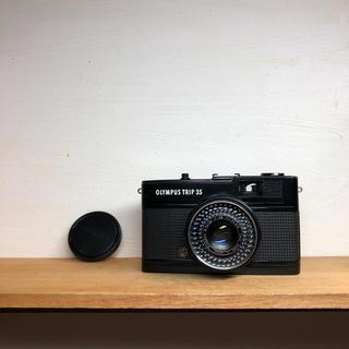 オリンパス(OLYMPUS)の*希少*OLYMPUS TRIP 35【整備品、完動品】キャップ付(フィルムカメラ)