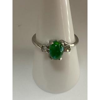 グリーンオパールリング‼️‼️(リング(指輪))