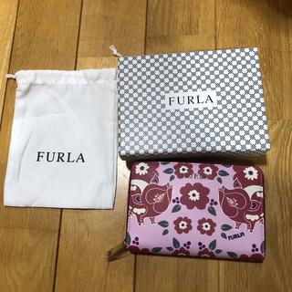 フルラ(Furla)のフルラコンパクト財布 ラウンドファスナー 新品未使用 箱袋付き(折り財布)