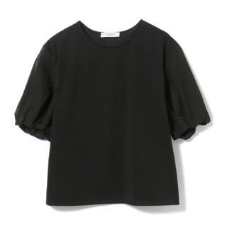 デミルクスビームス(Demi-Luxe BEAMS)のDemi-Luxe BEAMS / 異素材 ボリュームスリーブ プルオーバー(Tシャツ(半袖/袖なし))