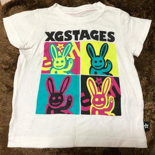 エックスガールステージス(X-girl Stages)のX-girlstages Tシャツ110(Tシャツ/カットソー)