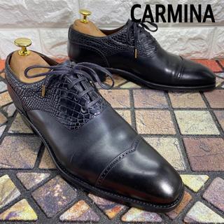 ヤンコ(YANKO)の◎良品 CARMINA カルミナ リアルクロコ ビジネスシューズ 革靴(ドレス/ビジネス)