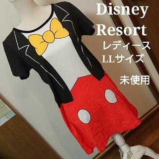 ディズニー(Disney)の【専用】ディズニーリゾート  ワンピース レディース LL 未使用 燕尾服(ミニワンピース)