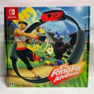 ニンテンドースイッチ(Nintendo Switch)のリングフィットアドベンチャー 新品未開封(家庭用ゲームソフト)