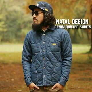 ネイタルデザイン(NATAL DESIGN)のネイタルデザイン NATAL DESIGN デニムキルテッドシャツ(Gジャン/デニムジャケット)