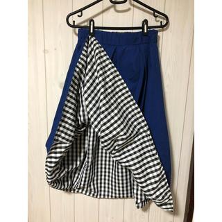 ムジルシリョウヒン(MUJI (無印良品))のロングスカート 2WAY  リバーシブル(ロングスカート)