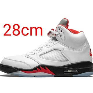 ナイキ(NIKE)の28cm NIKE AIR JORDAN 5 RETRO OG FIRE RED(スニーカー)