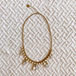 エニィスィス(anySiS)のanysis ネックレス ビジュー ゴールド(ネックレス)