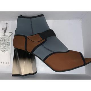 マルニ(Marni)のマルニ marni 靴 ブーツ 38 24.5(ブーツ)