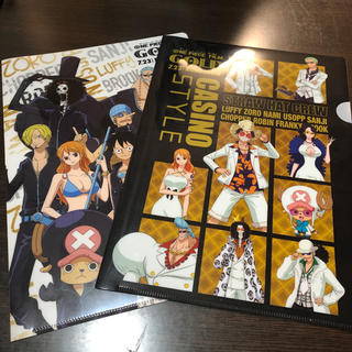 ONE PIECE FILM GOLD ファイル 2枚セット(クリアファイル)