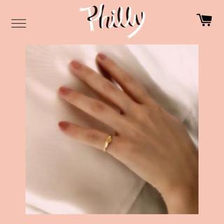 エディットフォールル(EDIT.FOR LULU)のPhilly Chocolate WNF RING(リング(指輪))