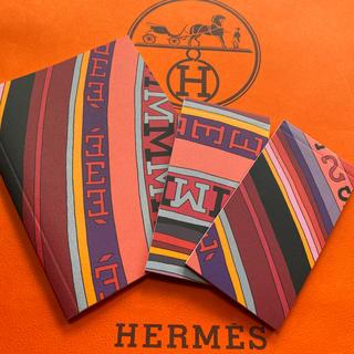 エルメス(Hermes)の新品エルメスノート3冊セット(ノート/メモ帳/ふせん)