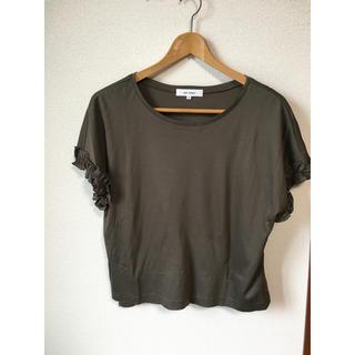 エムプルミエ(M-premier)のTシャツ カットソー トップス エムズセレクト M's  select フリル(Tシャツ(半袖/袖なし))