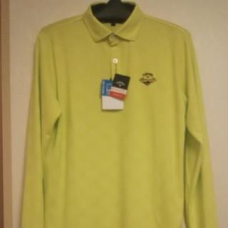 キャロウェイ(Callaway)のタグ付 新品未使用 キャロウェイ 長袖シャツ Lサイズ(シャツ)