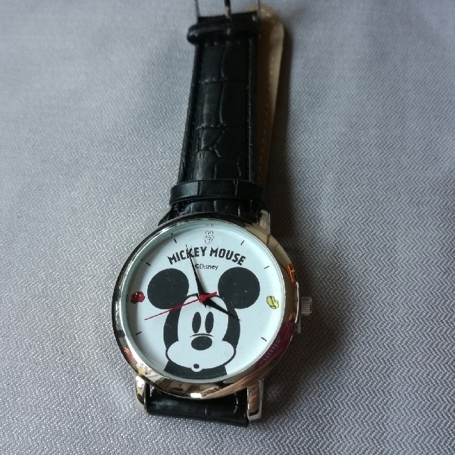 ミッキーマウス(ミッキーマウス)のミッキーマウス 大人腕時計 steady. 付録 エンタメ/ホビーのおもちゃ/ぬいぐるみ(キャラクターグッズ)の商品写真