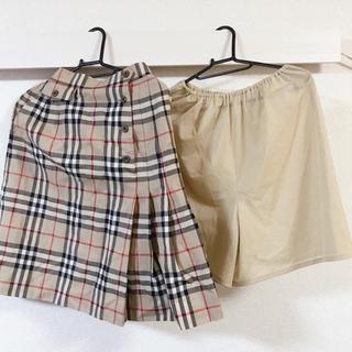 バーバリー(BURBERRY)の【バーバリー】 スカート+ペチコートセット(ミニスカート)