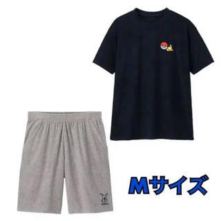ジーユー(GU)のGU ポケモンコラボ ピカチュウ パジャマ ラウンジセット Mサイズ(その他)
