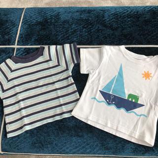 シップス(SHIPS)のSHIPS Tシャツ 2枚 サイズ90(Tシャツ/カットソー)