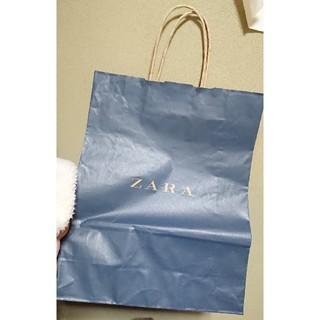ザラ(ZARA)のZARA紙袋(ショップ袋)