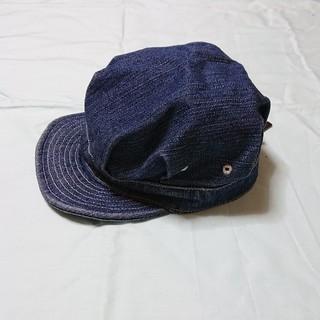 デニム・キッズキャスケット(52cm)(帽子)