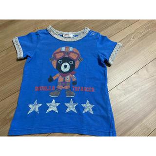 ダブルビー(DOUBLE.B)のDOUBLE.B 半袖 Tシャツ 80(Tシャツ)