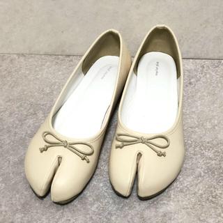 メルロー(merlot)のみなみ様 専用merlot plus 足袋シューズ オフホワイト Lサイズ 美品(バレエシューズ)